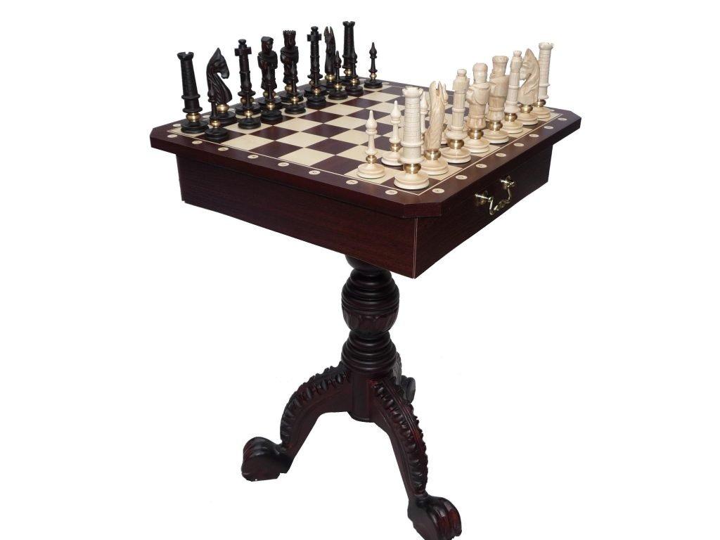 333-1-Pièces-échecs-plastique-non-lestées-Staunton-6
