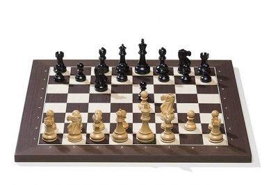 263-1-Echiquier-Démo-Pliable-en-quatre-Carton-Jeu-échec-Magnétique