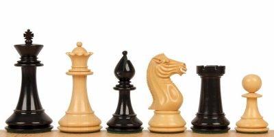 239-1-Jeux-Echecs-Stallion-knight-bois-ébène-Buis