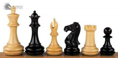 231-1-Jeux-Echecs-German-Knight-Double-Dame-Bois-Acacia-Buis